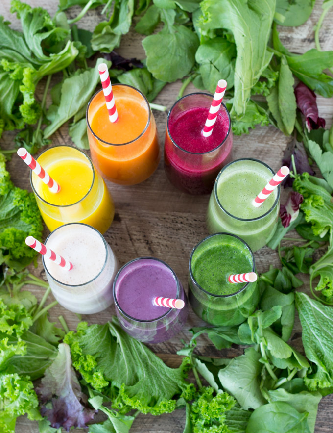7-Healthy-Smoothies-SimpleHealthyKitchen.com-recipes-1